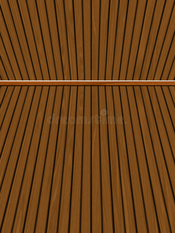 Wooden decking / panels