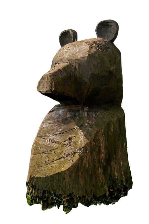 Free Wooden Decorative Bear Statue Stock Photos - 44706633
