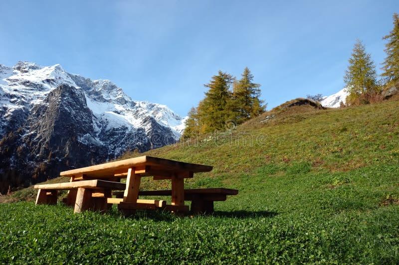 Download Wooden desk stock photo. Image of autumn, orange, europe - 3482666