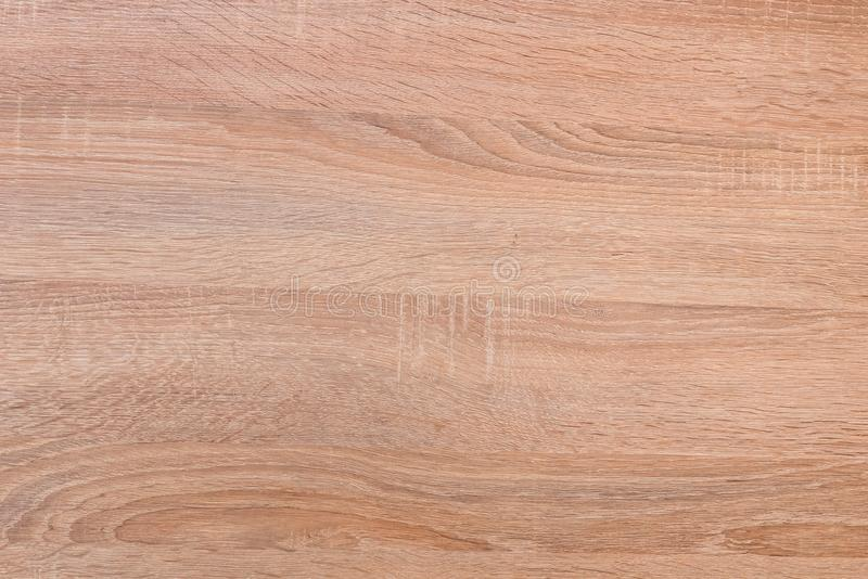 Wooden desk as texture with natural wood pattern. Background stock images