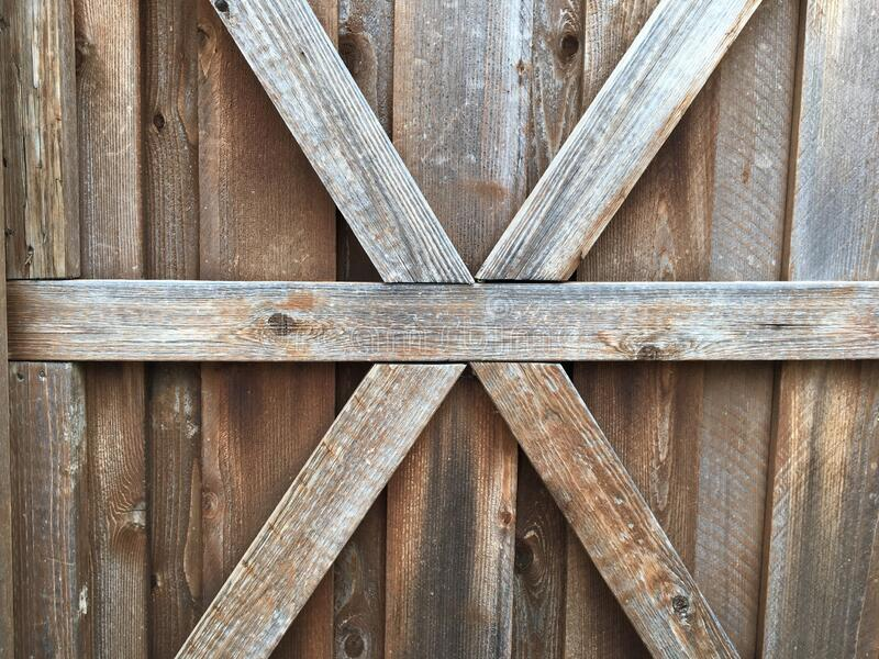 Wooden x detail royalty free stock image