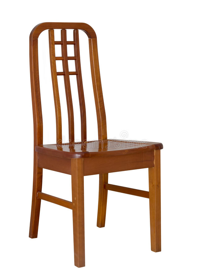 Wooden dining chair