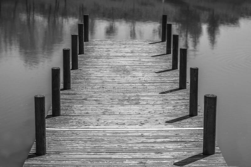Wooden Dock In Waters Free Public Domain Cc0 Image