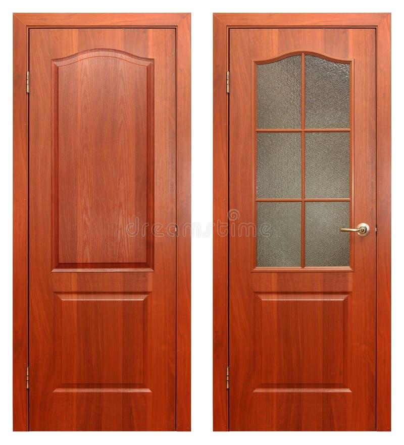 Download Wooden door stock image. Image of isolated, merchandise - 16562685