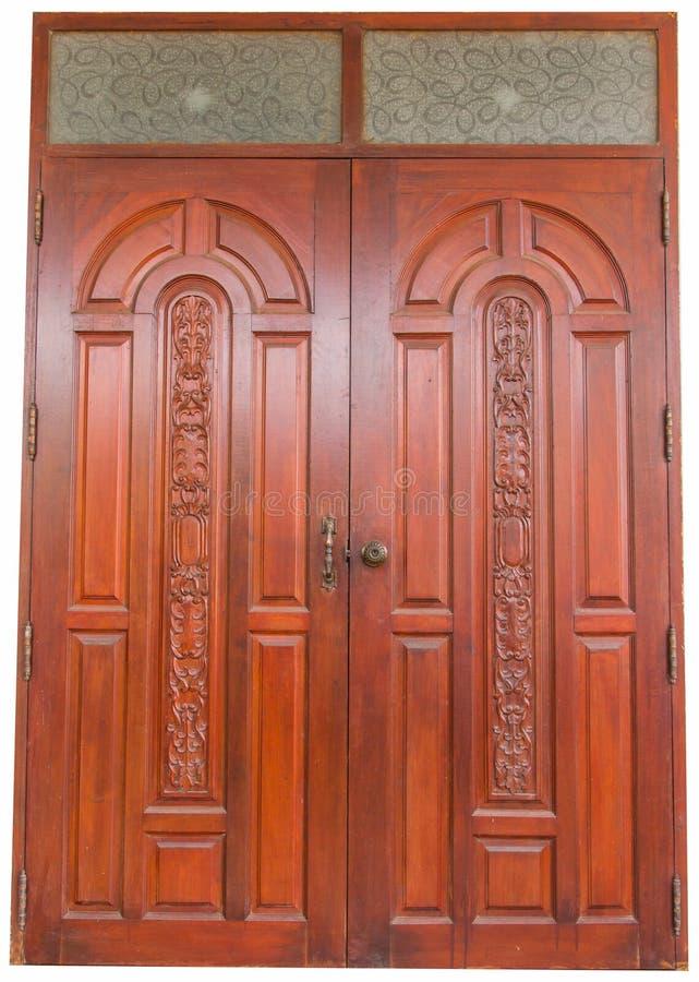 Wooden Door Royalty Free Stock Photography