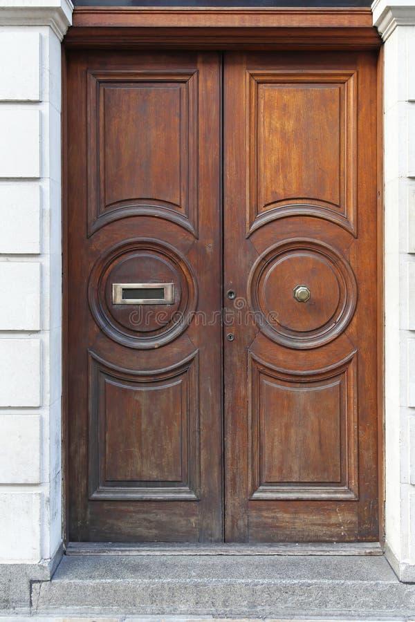 Download Wooden door stock photo. Image of house, door, architecture - 27828832