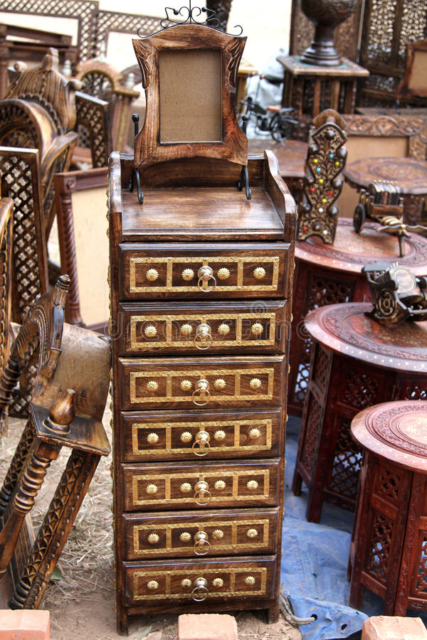 Download Wooden drawers stock image. Image of gold, antique, polished - 21636831