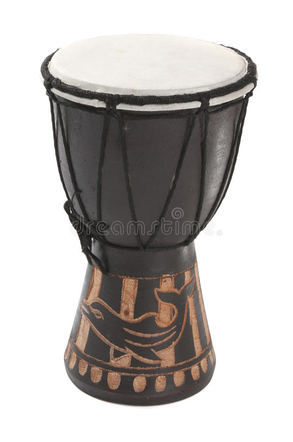 Download Wooden drum stock photo. Image of isolated, object, etnic - 26493650