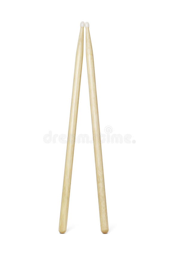 Download Wooden drumsticks stock photo. Image of drumstick, acoustic - 19831088