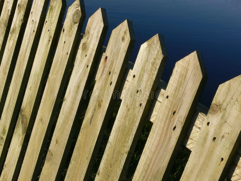 Download Wooden Fence stock photo. Image of barrier, enclose, paling - 1700966