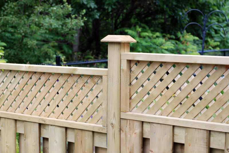 Download Wooden fence stock image. Image of outdoors, private - 18176117