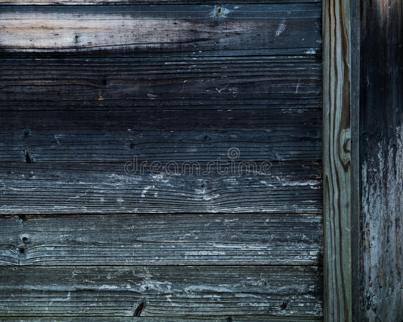 Wooden fence panels royalty free stock photo