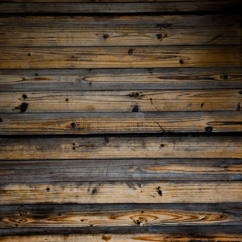 Wooden fence panels stock photos