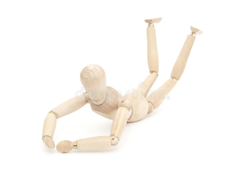 Download Wooden figure concepts stock image. Image of dummy, mannequin - 17672195