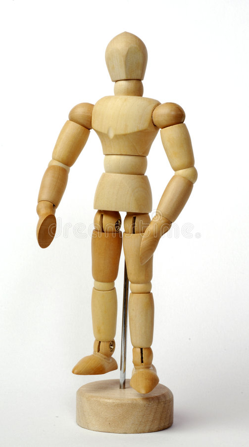 Download Wooden figurine stock image. Image of mannequin, tradition - 6724747