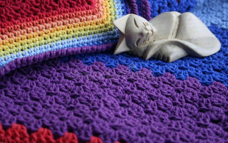 Download Coziness is a warm blanket stock photo. Image of rainbow - 29972246