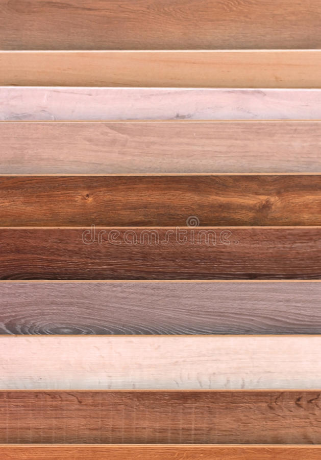 Wooden floor samples royalty free stock photo