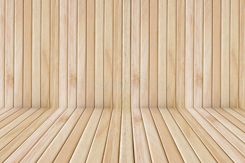 Wooden floor stage and wall royalty free stock photo