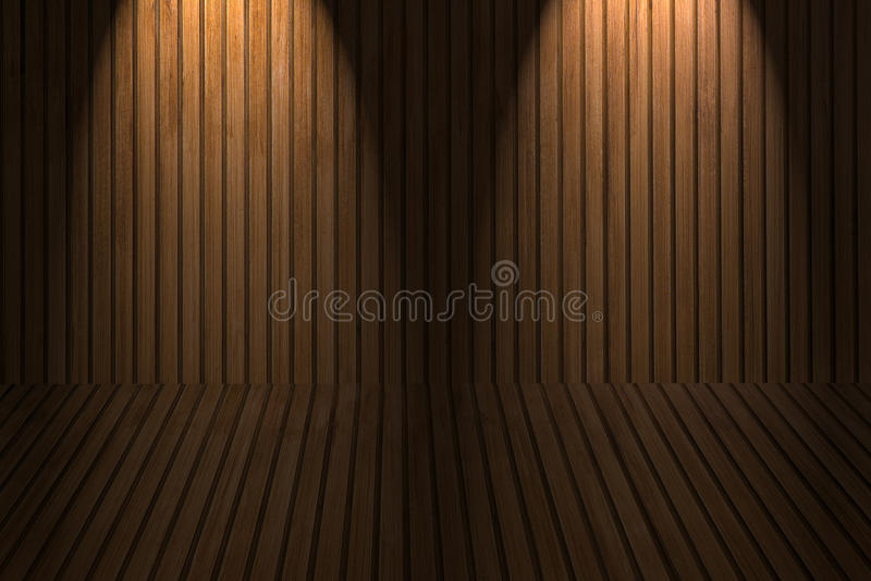 Download Wooden floor and wall stock image. Image of section, design - 39511005