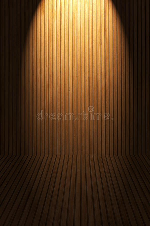 Download Wooden floor and wall stock image. Image of light, natural - 39512567