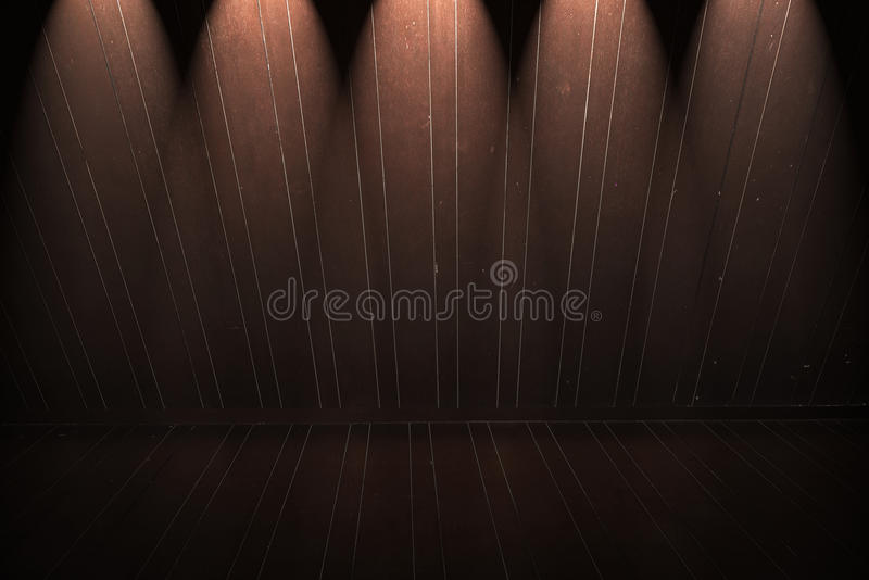Download Wooden Floor And Wall With Light Stock Photo - Image of frame, hardwood: 39511860