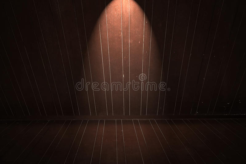 Download Wooden Floor And Wall With Light Stock Image - Image of material, pattern: 39511879