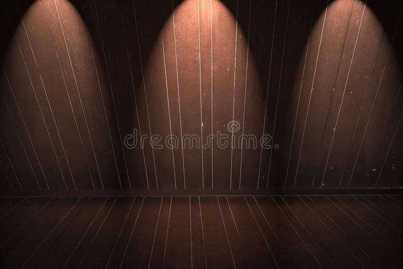 Download Wooden Floor And Wall With Light Stock Image - Image of horizontal, element: 39512041