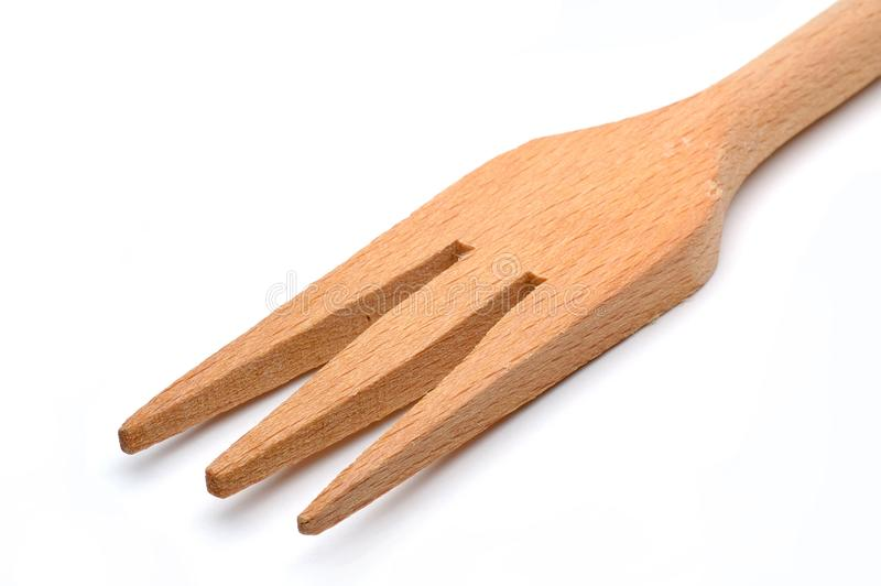 Wooden Fork Stock Photography