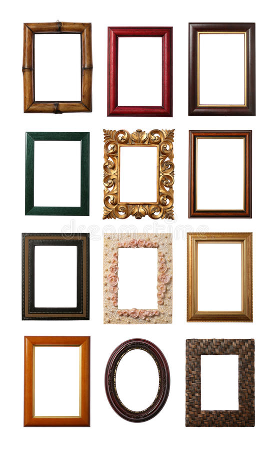 Download Wooden Frame stock photo. Image of collection, object - 13354380