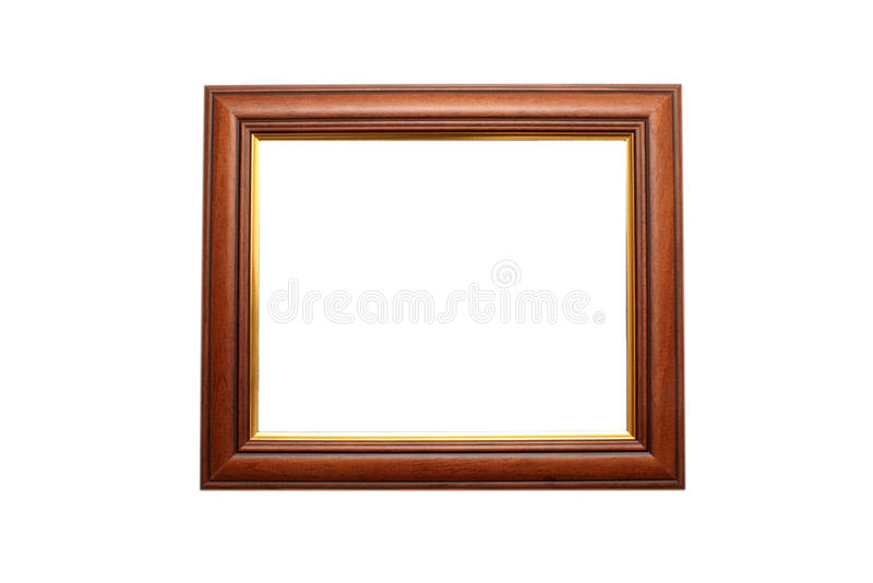 Download Wooden frame stock photo. Image of gold, blank, design - 19992000