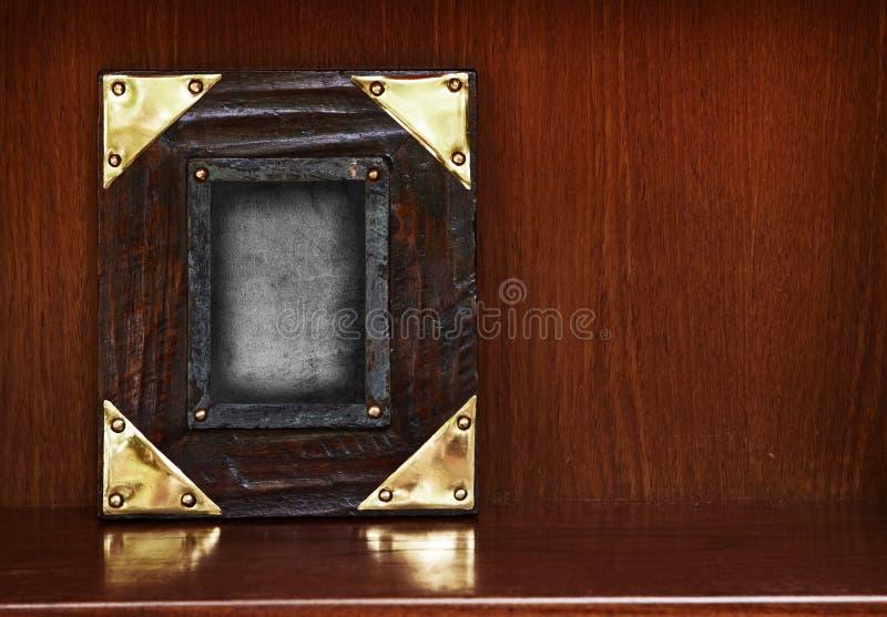 Wooden frame vector illustration