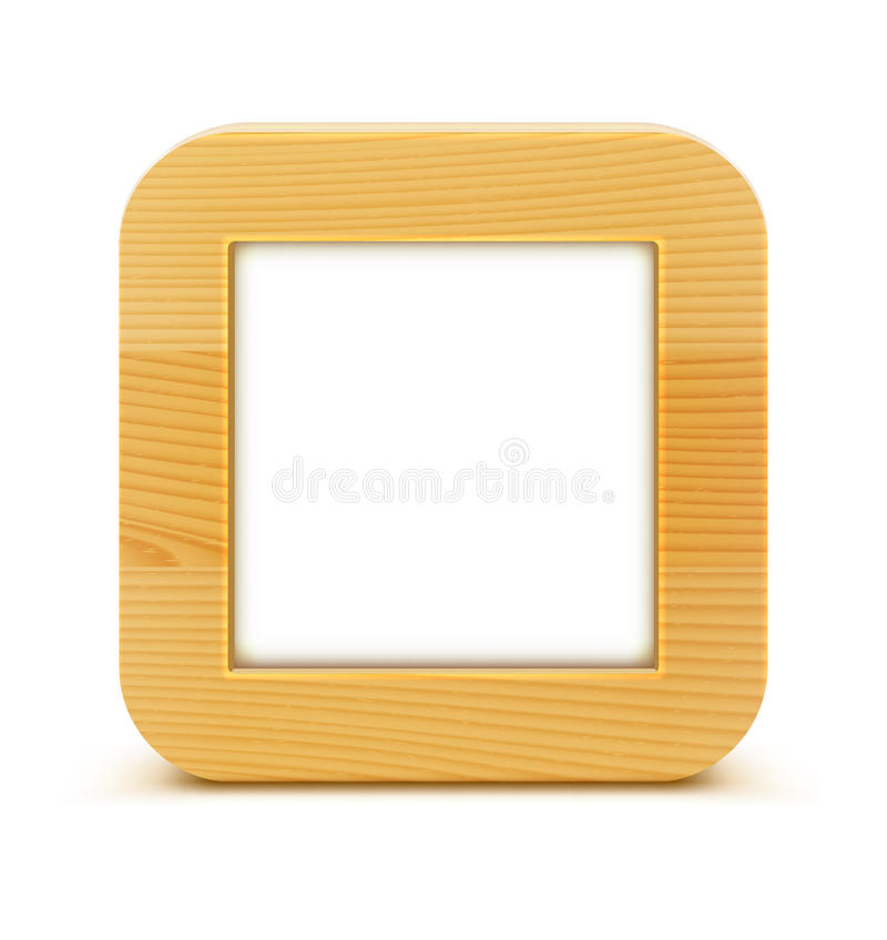 Download Wooden frame stock vector. Image of design, clean, obsolete - 28058343