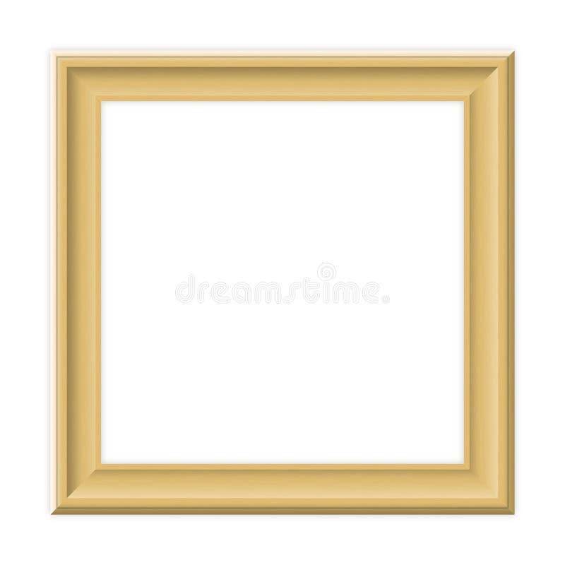 Wooden frame stock illustration