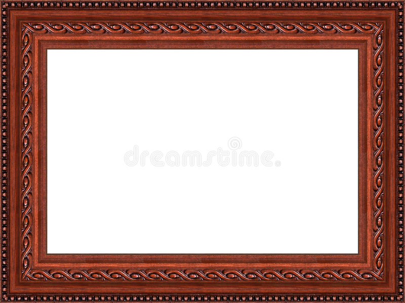 Wooden frame stock illustration