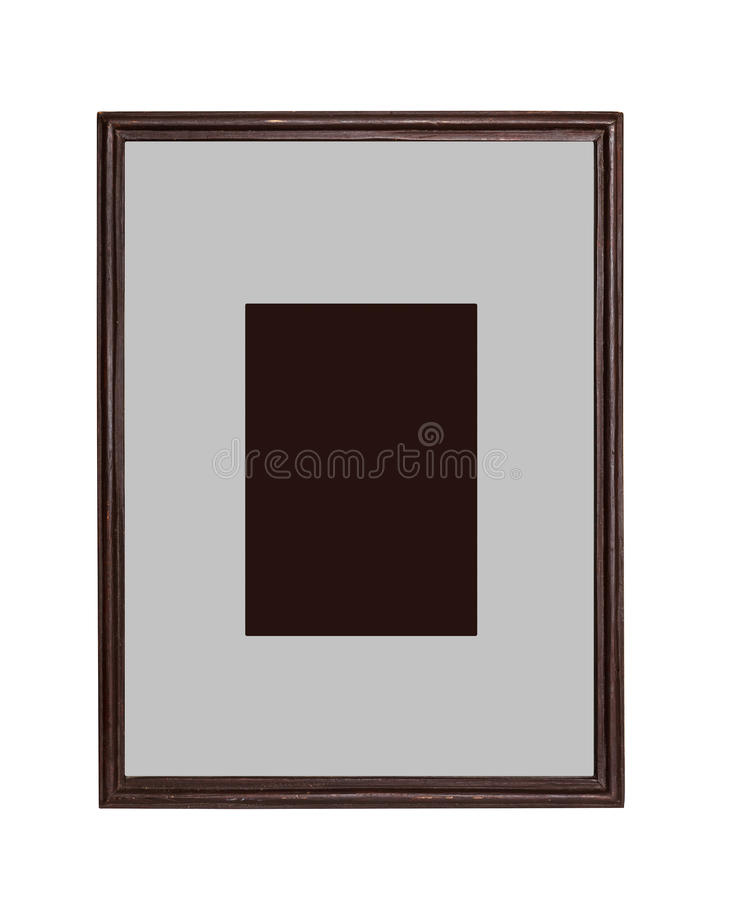 Wooden frame for painting stock image. Image of design - 32260491