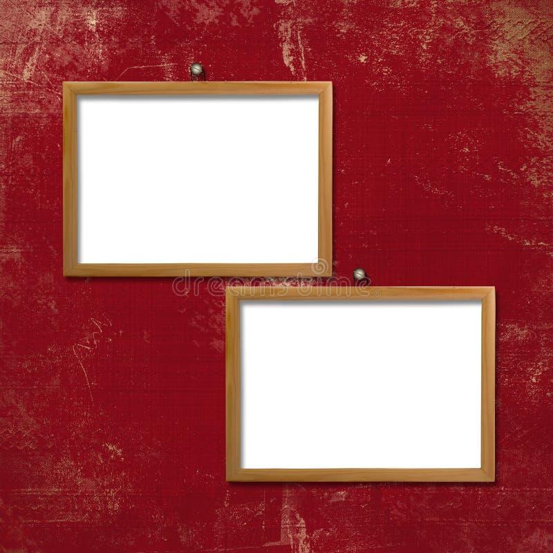 Download Wooden Frameworks For Portraiture Stock Illustration - Image: 10298931