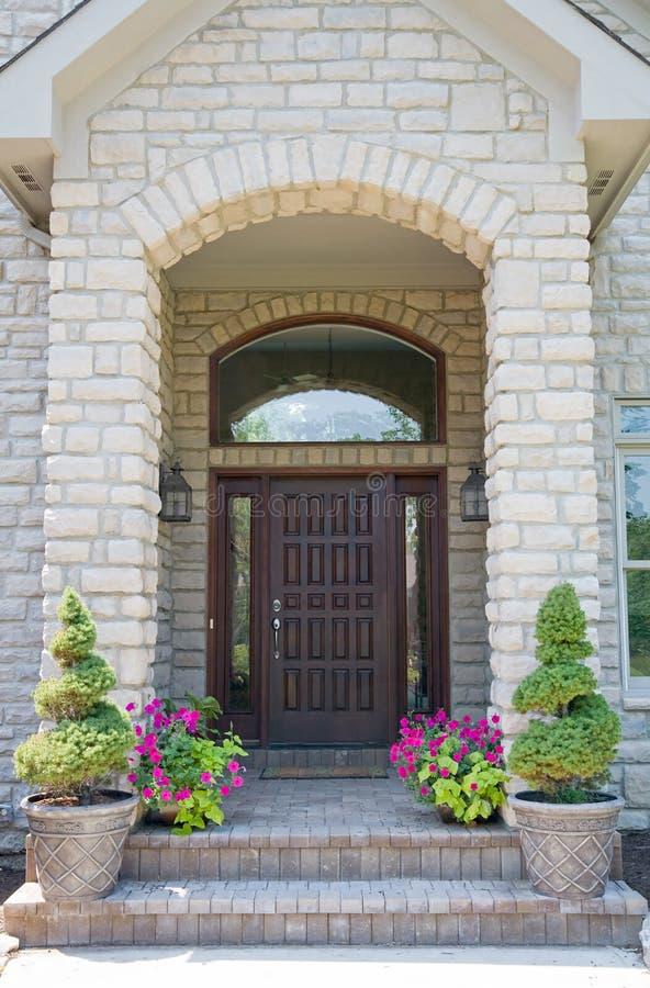 Download Wooden Front Door stock photo. Image of cherry, home, entrance - 8638688