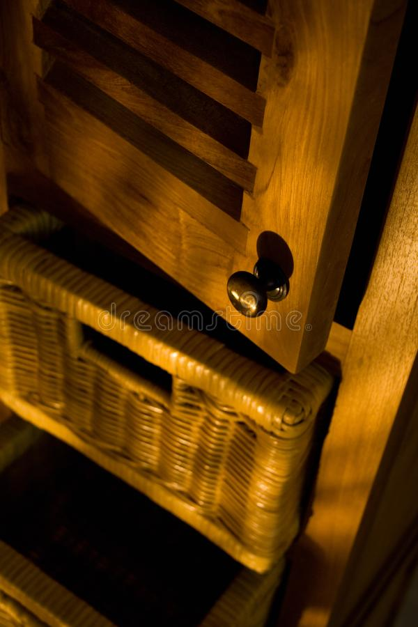 Wooden furniture royalty free stock images