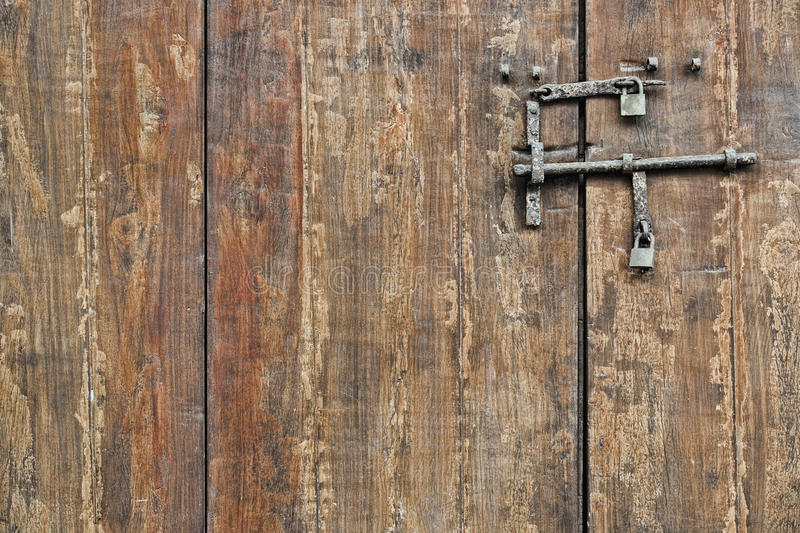Download Wooden gate stock photo. Image of locked, ancient, fort - 18024976