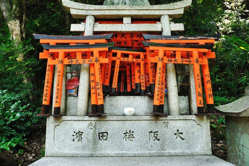 Download Wooden Gates stock photo. Image of corridor, fushimi - 16215974