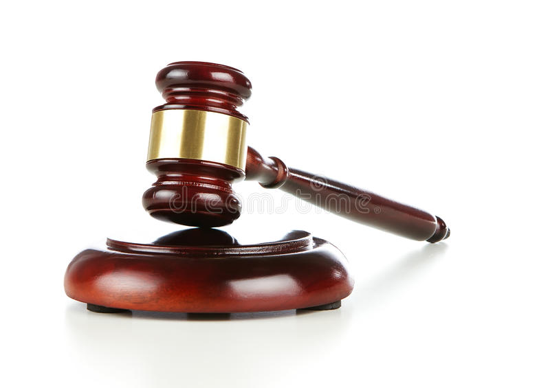 Download Wooden Gavel Stock Photography - Image: 23009262