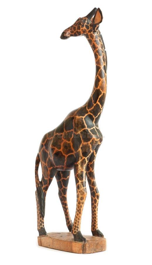 Wooden Giraffe royalty free stock photos
