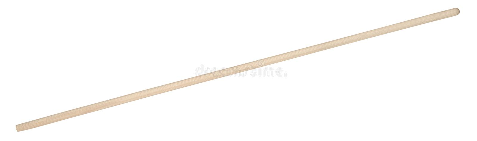 Wooden handle royalty free stock image