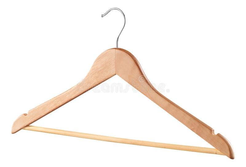 Wooden hanger stock images