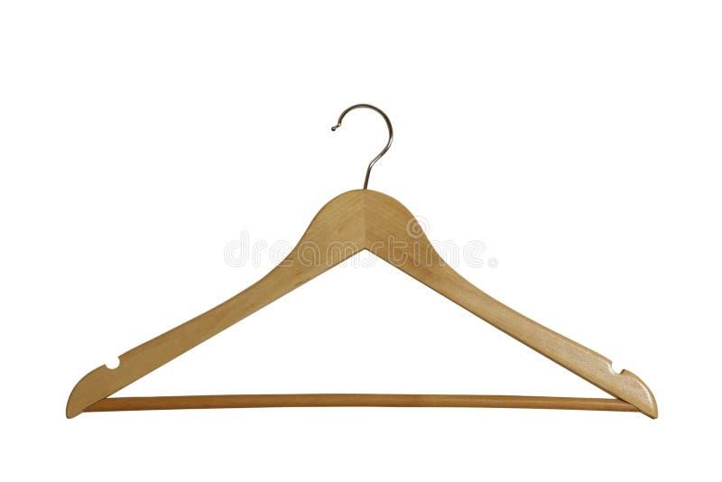 Download Wooden Hanger stock photo. Image of single, metal, hanging - 36353158