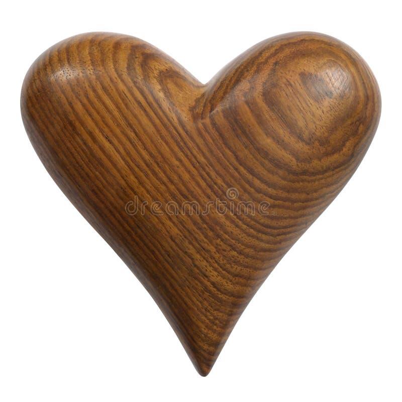 Wooden Heart royalty free stock photo