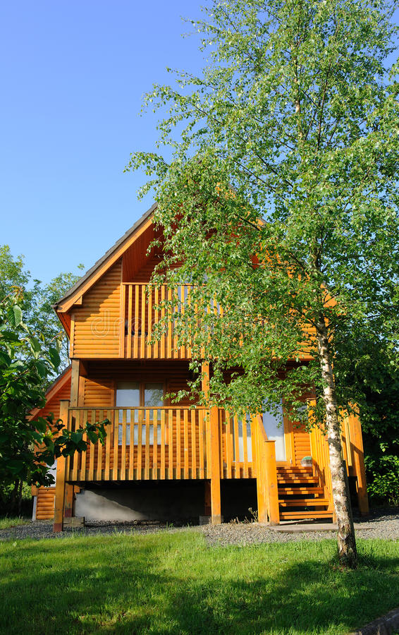 Download Wooden home in the country stock photo. Image of building - 19833230