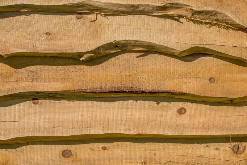 Wooden horizontal slats. Corfu Greece royalty free stock images