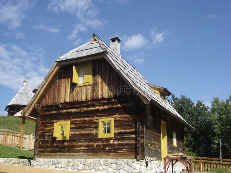 Download Wooden house stock photo. Image of real, wooden, house - 1184546