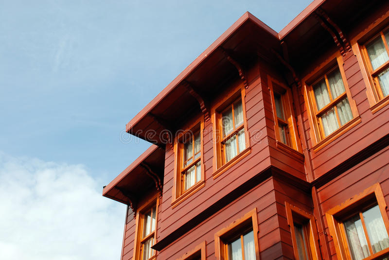Download Wooden house stock image. Image of brown, building, wooden - 16314691